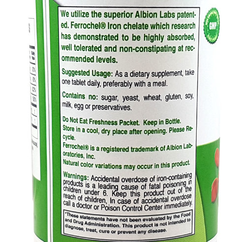 Emergen 30 - Iron Complex - Facts