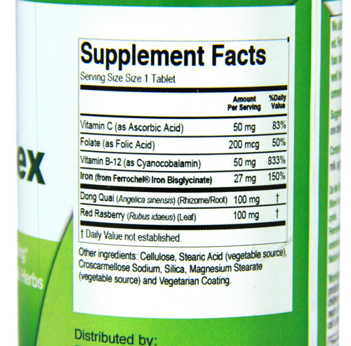 Emergen30 - Iron Complex Facts