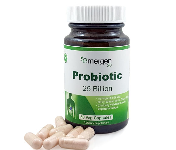 Emergen30 - Probiotic 25 Billion