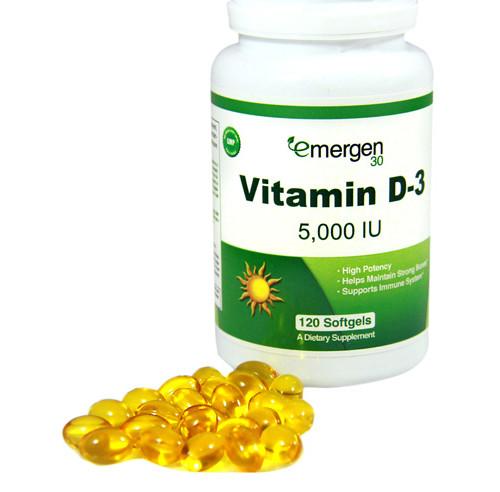 Emergen30 - Vitamin D-3 5,000 IU