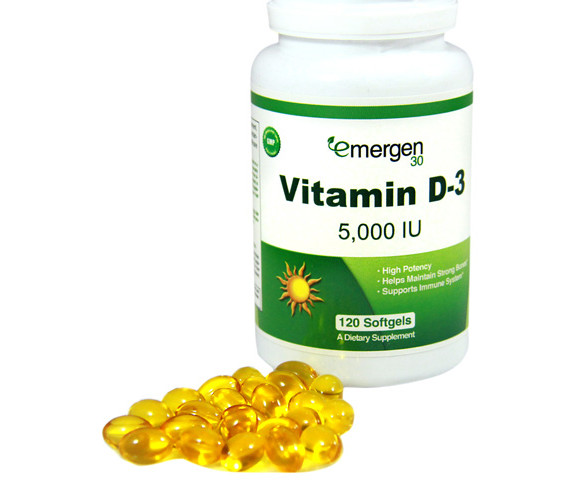 Emergen30 - Vitamin D-3 5,000 IU