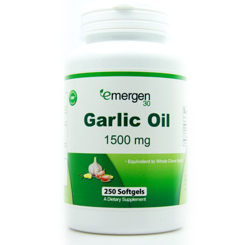 Emergen30 - Garlic Oil, 1500 mg