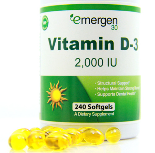 Emergen30 - Vitamin D-3 2,000 IU