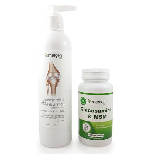 Emergen30 - Glucosamine & MSM Pack
