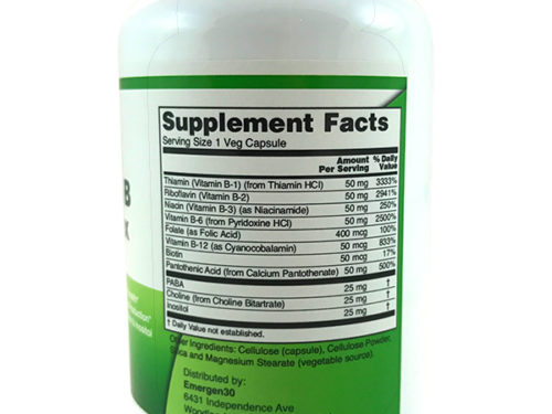 Emergen30 - Vitamin B Complex - Facts