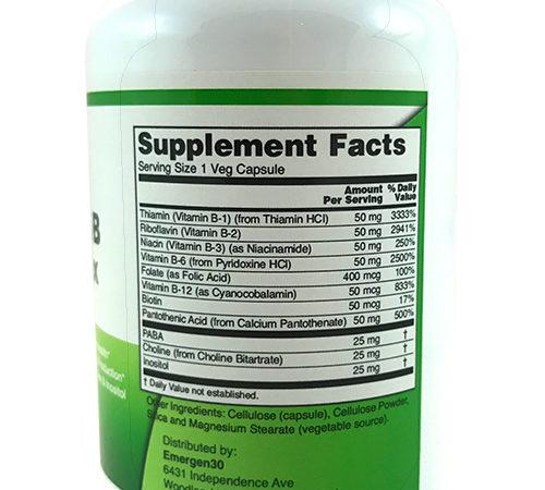 Emergen30 - Vitamin B Complex - Facts