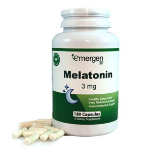 Emergen30 - Melatonin 3mg - 180 Capsules